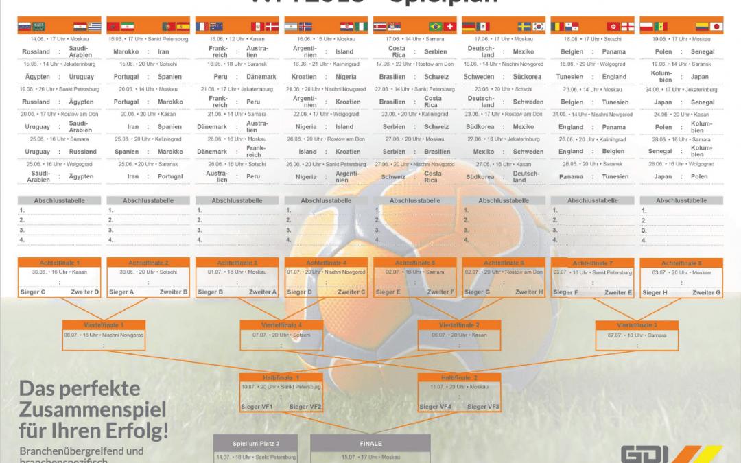 Fußball WM 2018 – Endlich geht es los!