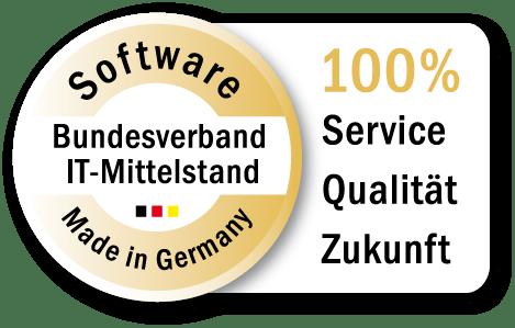 Software, die erstklassigen Service, Qualität und Zukunftsfähigkeit vereint.