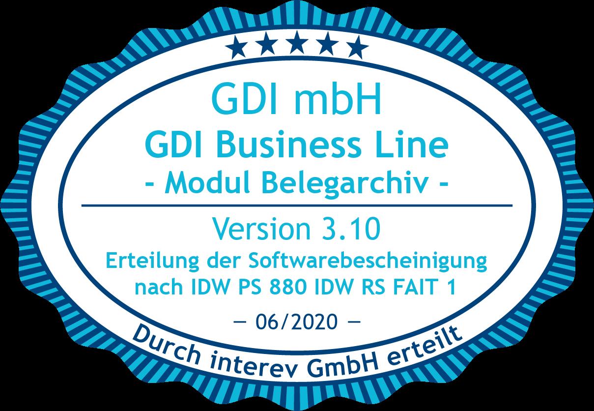 Warenwirtschaftsprogramm der GDI ermöglicht GoBD-konforme Belegverarbeitung