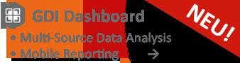 GDI Dashboard - Intuitive, übersichtliche Datenanalyse