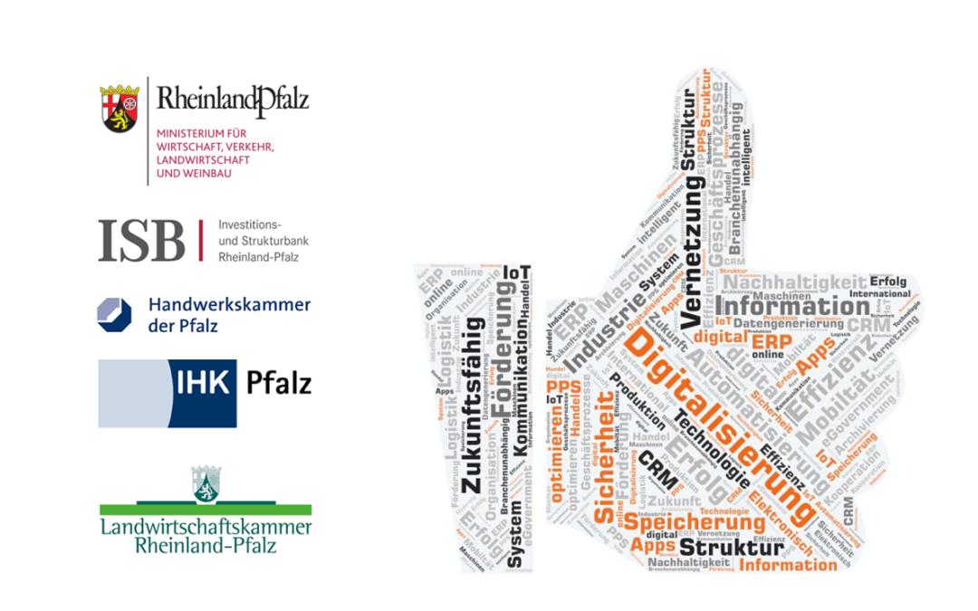 DigiBoost –  Digitalisierungsförderung für KMU in Rheinland-Pfalz